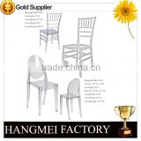 Wholesale Stacking Crystal Clear Wedding Chair Chiavari