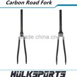 High-end road bike carbon front fork 3k/ud bicycle disc-brake fork 370mm carbon road fork