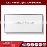 2016 New products TUV CE&RoHS indoor lighting dimmable 24w 300x600 led panel lamp 2years warranty