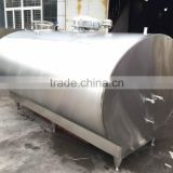 High Quality Stainless Steel Horizontal milk cooler truck