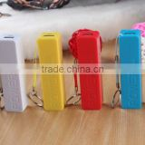 6 Colors Power Bank 2000mah USB External Battery Portable Charger Bateria Externa Pack for iphone Samsung Mobile phone