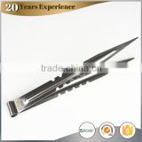 high temperature resistant charcoal tongs, colored powder coating stainless steel tongs for hookah
