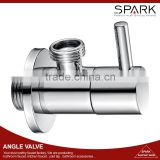 Angle stop valve Chrome Brass Angle valve for bathroom or kitchen