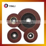 best quality grit 60# 80# metal flap disc for aluminum for surface cleaning for angle grinder machine low price