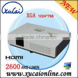 Hot Sale~LCD Long Distance Throw Projector 2600 lumens, 2500:1, XGA for Conference, Business, Education and Home XC-A115