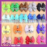 Hot sell Western style children cute bow tie fashion girls hair accessories for wholesale