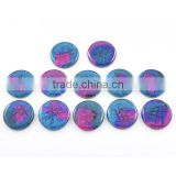 Dichroic glass wholesale losse gemstone cabochon gemstones for jewelry making
