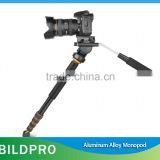 BILDPRO Action Camera Accessories Portable Monopod Alpenstock Foldable Aluminum Monopod Camera Stand