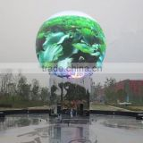 new technology design curve spherical screen led sphere display outdoor