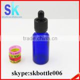 30ml cobalt blue glass dropper bottles with childproof cap                                                                                                         Supplier's Choice