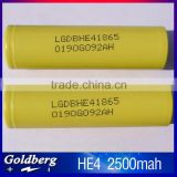 LGDBHE21865 18650 battery lg he4                                                                                                         Supplier's Choice