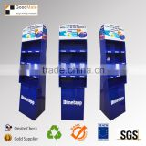 China supplier new product cardboard cricket bat box display