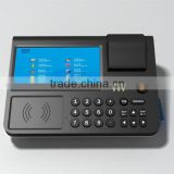 Android pos terminal touch screen pc with 58mm bluetooth thermal printer