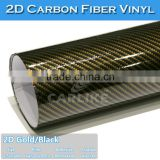 SINO Fast Delivery Easy Install Black Color Air Bubble 2D Carbon Fiber Adhesive Tape