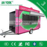 2015 HOT SALES BEST QUALITY korean fish crips food cart ice cream sandwich food cart waffle food cart