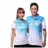 Light Blue badminton jersey Latest men and women shirt badminton jersey and shorts red badminton sportswear                                                                         Quality Choice