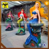 HLT life size fiberglass mermaid statues for sale                                                                         Quality Choice