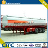 Hydrochloric acid chemical liquid tank semi trailer with standard material,steel tank lined with plastic