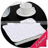alibaba china lighter white hotel hand towel with grids