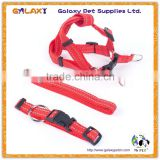china cheap custom logo printed name brand dog collar and leashes