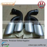 exhaust pipes muffler tips used for VW Touareg 2011