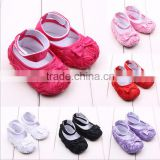 rose flower baby shoes