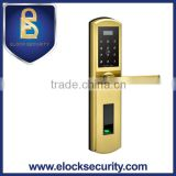 304 Stainless Steel Fingerprint Password Keypad Scanner Door Lock, Biometric Fingerprint