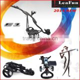 The compact-folding PRO electric trolley With Digital Handle ,Distance 10M.20M.30M.36 Holes Battery golf carts