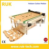 Digital leather fabric cutting plotter