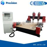 High presion &low cost cnc router wood working machine/Jinan High Quality Wood CNC Router machine