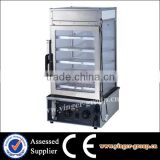 YGMME-500H Commercial Heavy Duty Food Display Steamer