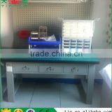 3 Abreast Drawers With Lock Multi-function Worktable Cold Rolling Steel Heavy Duty Workbench