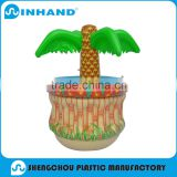 2016 non phthalate Hawaii style plant Fashion pvc floating inflatable party beer cooler/bar ice buckets