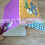 Card Product Type and Paper card 300g pearlescent paper crafts card innovative corporate barcode gifts