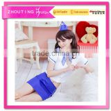 CSWh31 Hot Selling Fly Girl Sexy Air Hostess Costume Uniform