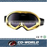 Boys Like sports ski goggles, cool styling, safety design, guaranteed quality, made in Taiwan