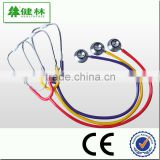 Best seller! Colorful diagnostic dual head chestpiece stethoscope with good sound effect and good price