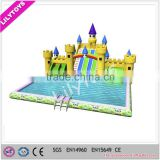 New inflatable water park, china inflatable moving water park, inflatable amusement water park