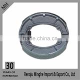 top quality Motorcycle spare parts Brake Shoe Pad Bajaj boxer with factory price