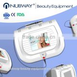 Nubway high quality 30MHZ high frequency spider veins vascular removal/ varicose veins laser treatment/ skin tag removal machine