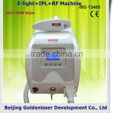 2013 Cheapest Price Beauty Equipment E-light+IPL+RF Multifunction Machine Clear Eyebrow Tattoo Laser Tool 530-1200nm