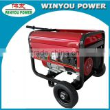 Rated power 3kw ac 220v 50hz power generator with electric start motor by real manufacture