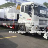 9 ton dongfeng 4x2 euro3 euro4 high pressure street cleaning truck