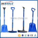 Multifunctional 4 in 1 Retractable snow shovel with snow brush set
