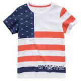 Printed Cotton T Shirt For Boy