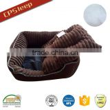 Cuddle style removable cushion dog beds luxury soft