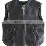 Gents Leather Vest Art No: 1327
