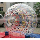 colorful inflatable zorb ball, roller ball, grass ball