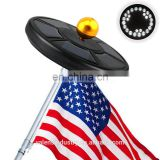 Solar Flag Pole Light,Waterproof Outdoor Auto On/ Off Flagpole Lighting Long Lasting Night Light with 26 Super Bright LED Light