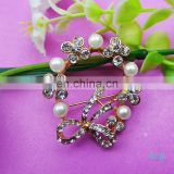 100%QC Bailange wholesale fashion rhinestone crystals brooches clothing accessories